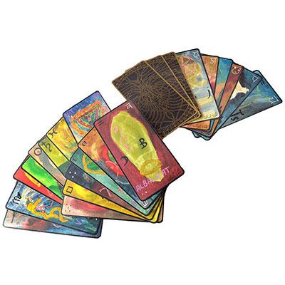 TAROT CARDS 'Signs' painted by Falco Tarassaco (Oberto Airaudi)